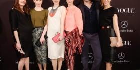 Lavinia Wilson, Susanne Wuest, Thekla Reuten, Bibiana Beglau, Misel Maticevic, Chiara Schoras Mercedes-Benz und Vogue